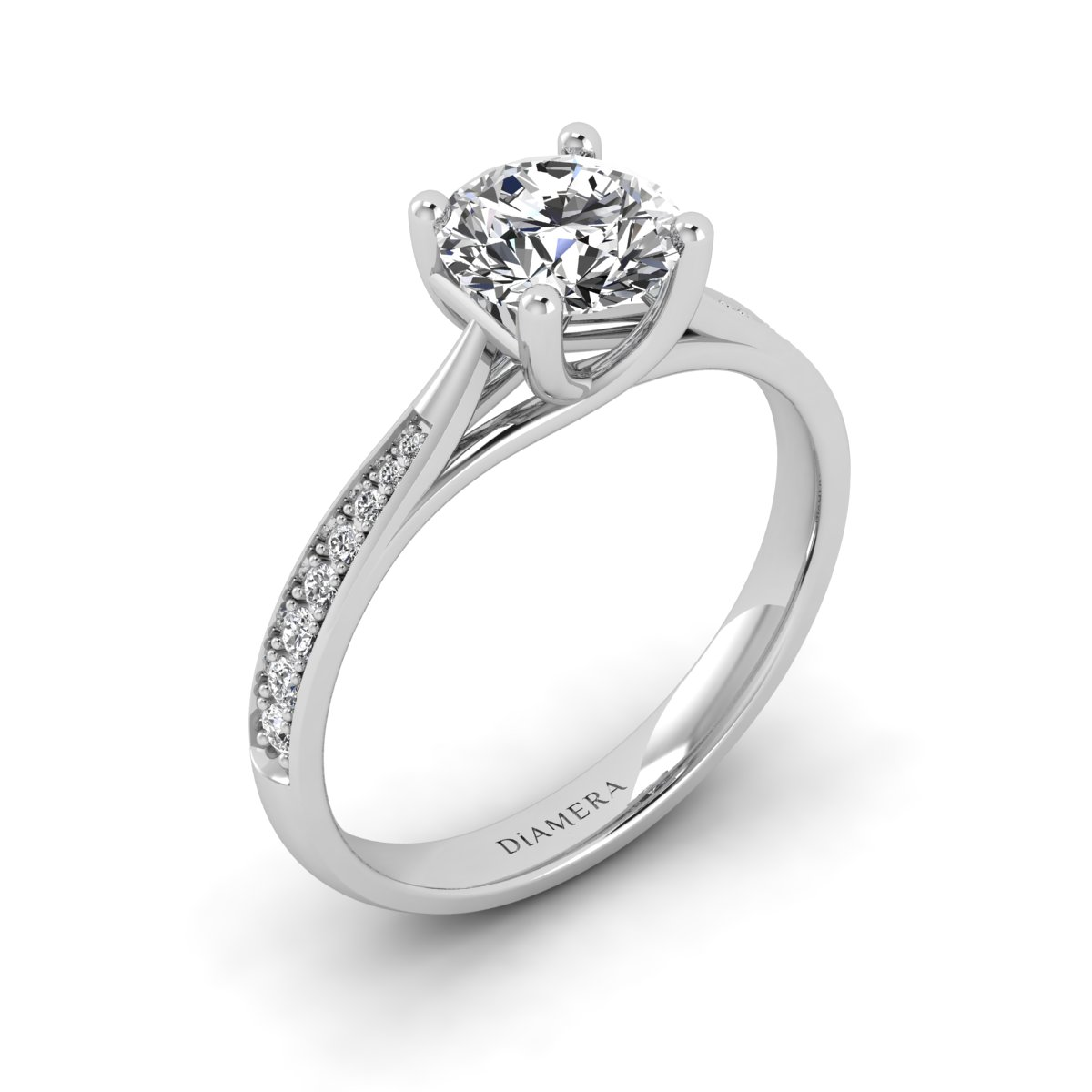 Zenia Solitaire Engagement Ring