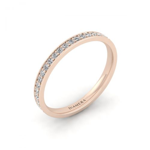 Eternity Surface Prong Ring