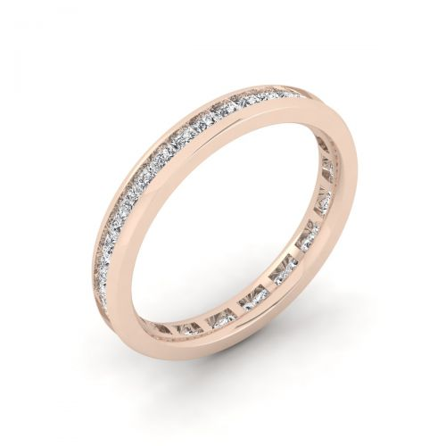 Lavish Princess Eternity Ring