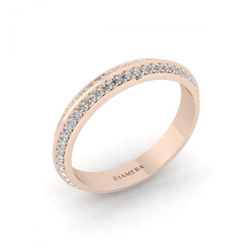 Eternity Double Set Diamond Ring