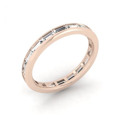 Gorgeous Baguette Eternity Ring
