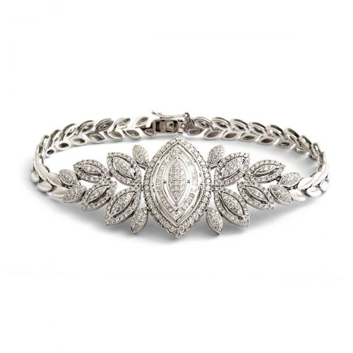 Marquise Antique Wedding Bracelet