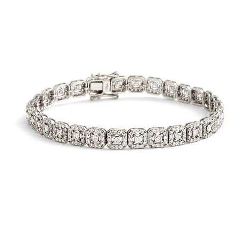 Princess Halo Wedding Bracelet