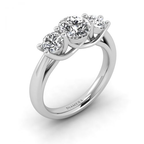 Three Dazzling Engagement Ring