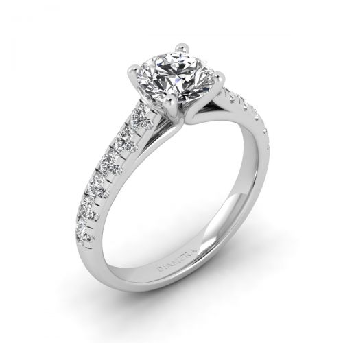 Lillian Solitaire Engagement Ring