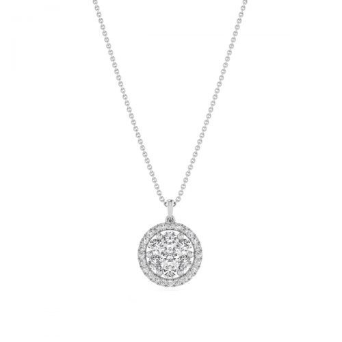 Fabulous Round Diamond Pendant