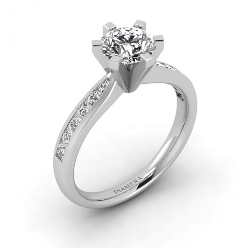 Elora Pave Engagement Ring