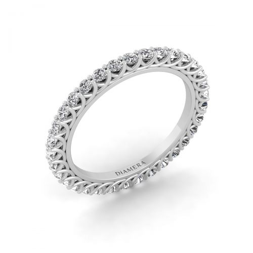 Charming Eternity Diamond Ring