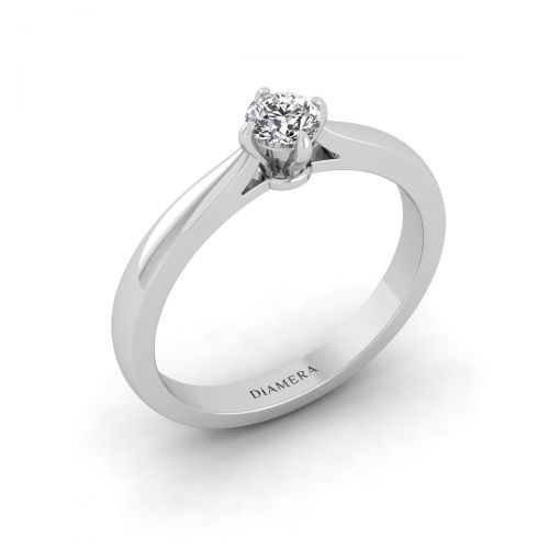 Blaize Round Diamond Ring