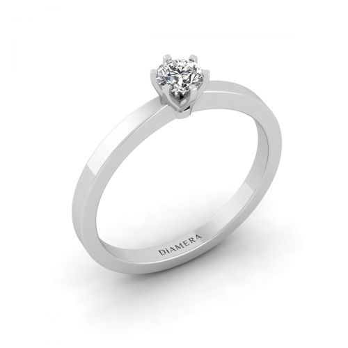 Alluring Solo Diamond Ring