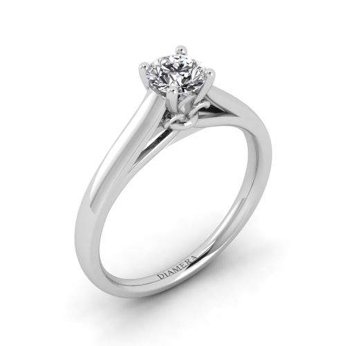 Avery Solitaire Engagement Ring