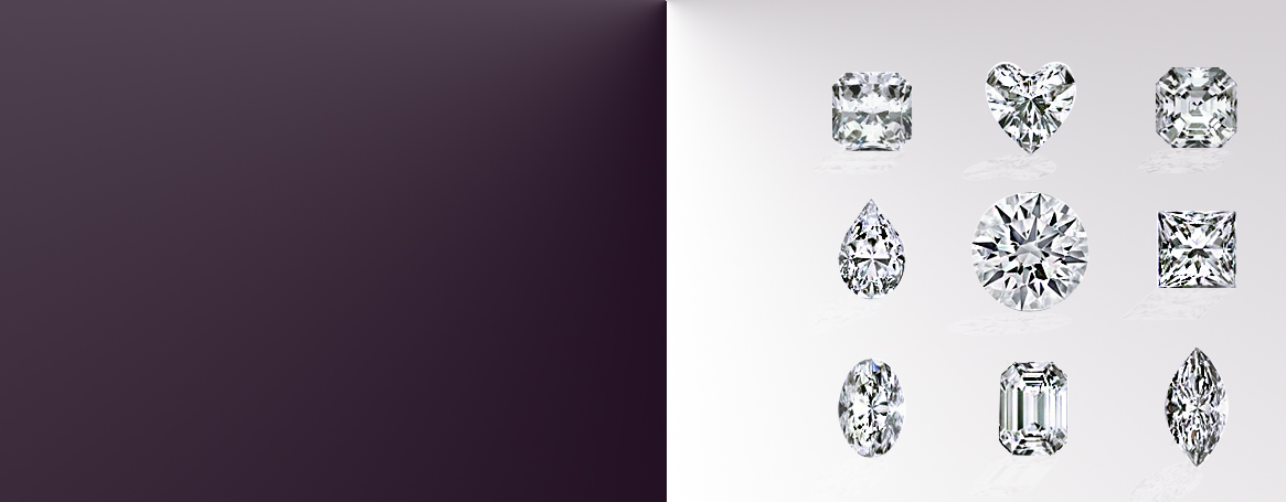 Discover a large selection of natural diamonds in 10 different shapes, sizes and qualities. All our diamonds are certified by major grading laboratories to meet our ethical standards of pure sourcing and unrivaled quality.